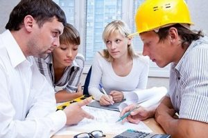 Meeting the team of engineers